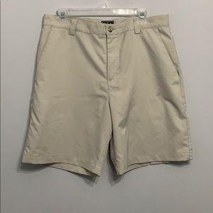 Adidas Beige Golf Shorts